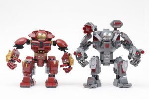 LEGO Marvel 76124 War Machine Buster review 12