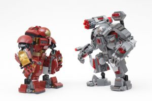 LEGO Marvel 76124 War Machine Buster review 13