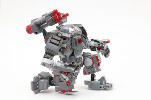 LEGO Marvel 76124 War Machine Buster review 2