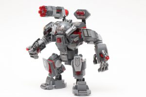 LEGO Marvel 76124 War Machine Buster review 3