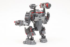 LEGO Marvel 76124 War Machine Buster review 4