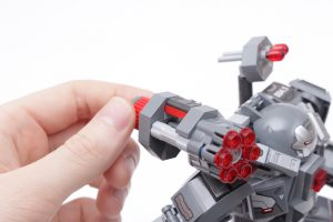 LEGO Marvel 76124 War Machine Buster review 9