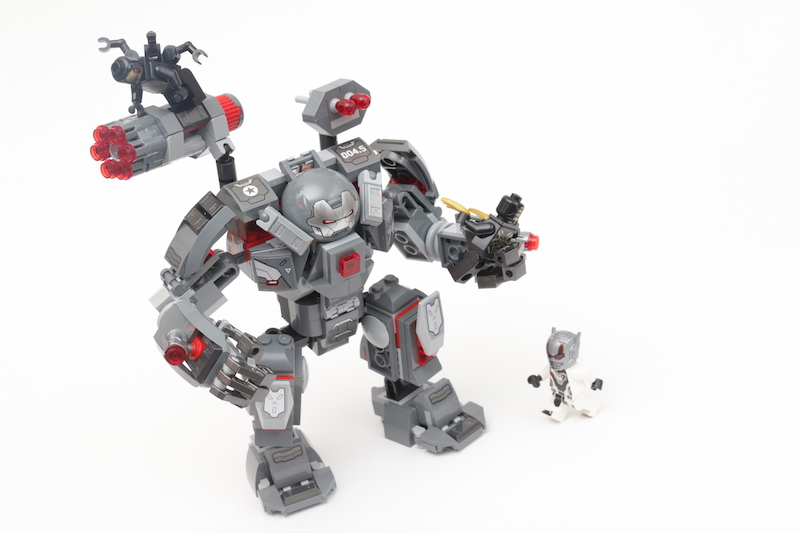 LEGO Marvel 76124 War Machine Buster review main