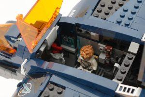 LEGO Marvel 76126 Avengers Ultimate Quinjet review 10