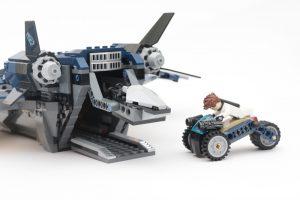 LEGO Marvel 76126 Avengers Ultimate Quinjet review 12