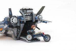 LEGO Marvel 76126 Avengers Ultimate Quinjet review 13
