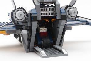 LEGO Marvel 76126 Avengers Ultimate Quinjet review 14