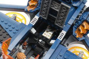 LEGO Marvel 76126 Avengers Ultimate Quinjet review 15
