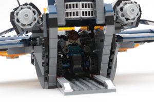 LEGO Marvel 76126 Avengers Ultimate Quinjet review 16
