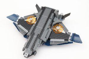 LEGO Marvel 76126 Avengers Ultimate Quinjet review 24