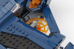 LEGO Marvel 76126 Avengers Ultimate Quinjet review 25