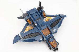 LEGO Marvel 76126 Avengers Ultimate Quinjet review 5
