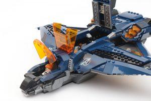 LEGO Marvel 76126 Avengers Ultimate Quinjet review 8