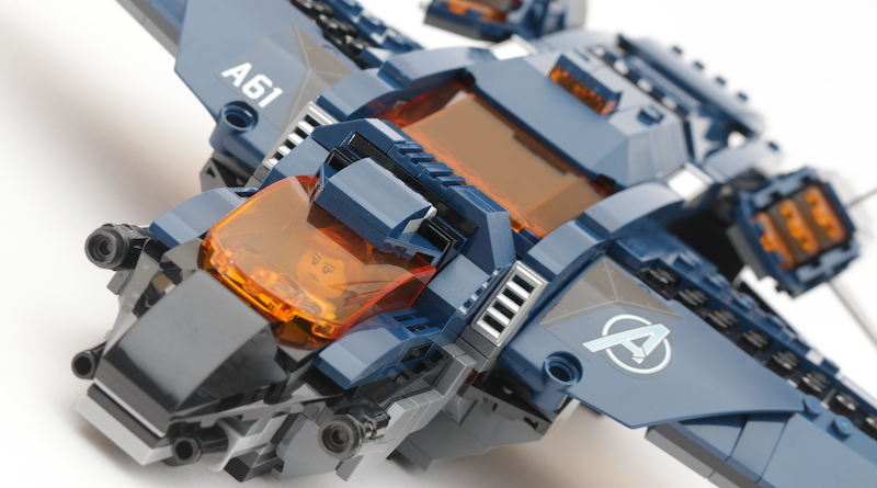 LEGO Marvel 76126 Avengers Ultimate Quinjet Review Title