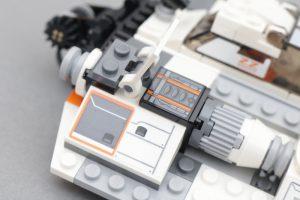 LEGO Star Wars Review 75259 Snowspeeder 20th Anniversary Edition 7 300x200