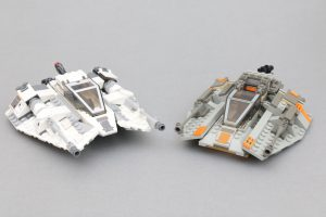 LEGO Star Wars Review 75259 Snowspeeder 20th Anniversary Edition Comparison 1 300x200