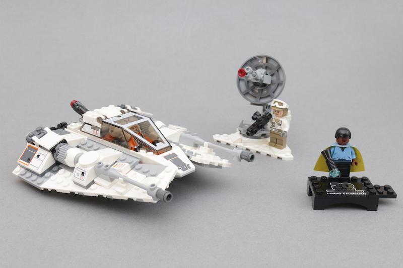LEGO Star Wars Review 75259 Snowspeeder 20th Anniversary Edition Main