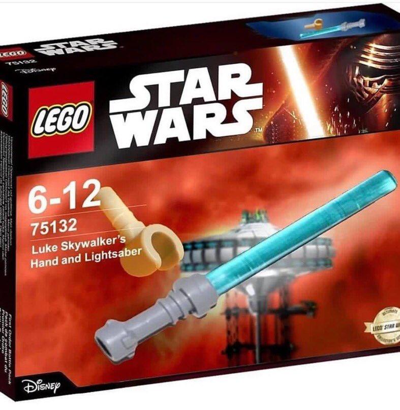 LEG Star Wars Lukes Hand