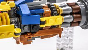 close up engine