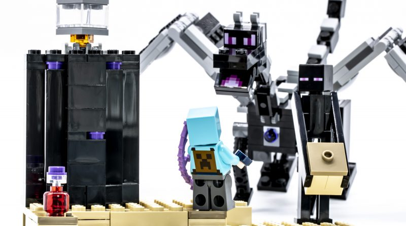 Lego Minecraft 21151 The End Battle Review