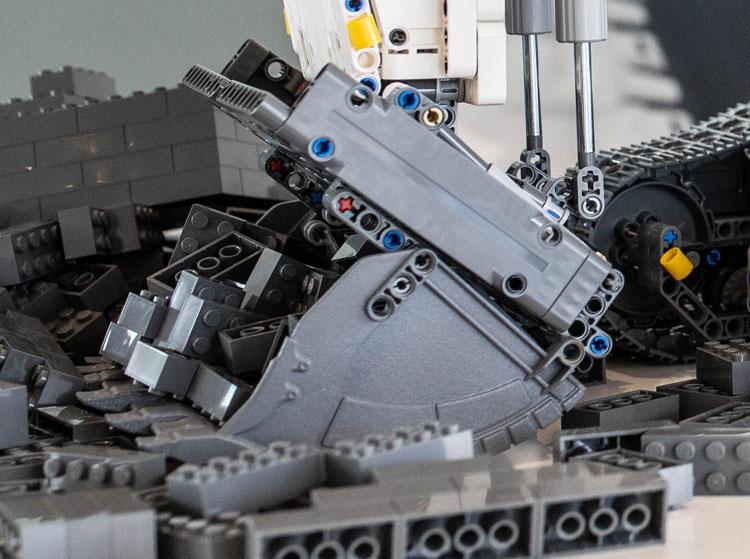 Lego 422100 Technic Liebherr Bauma7