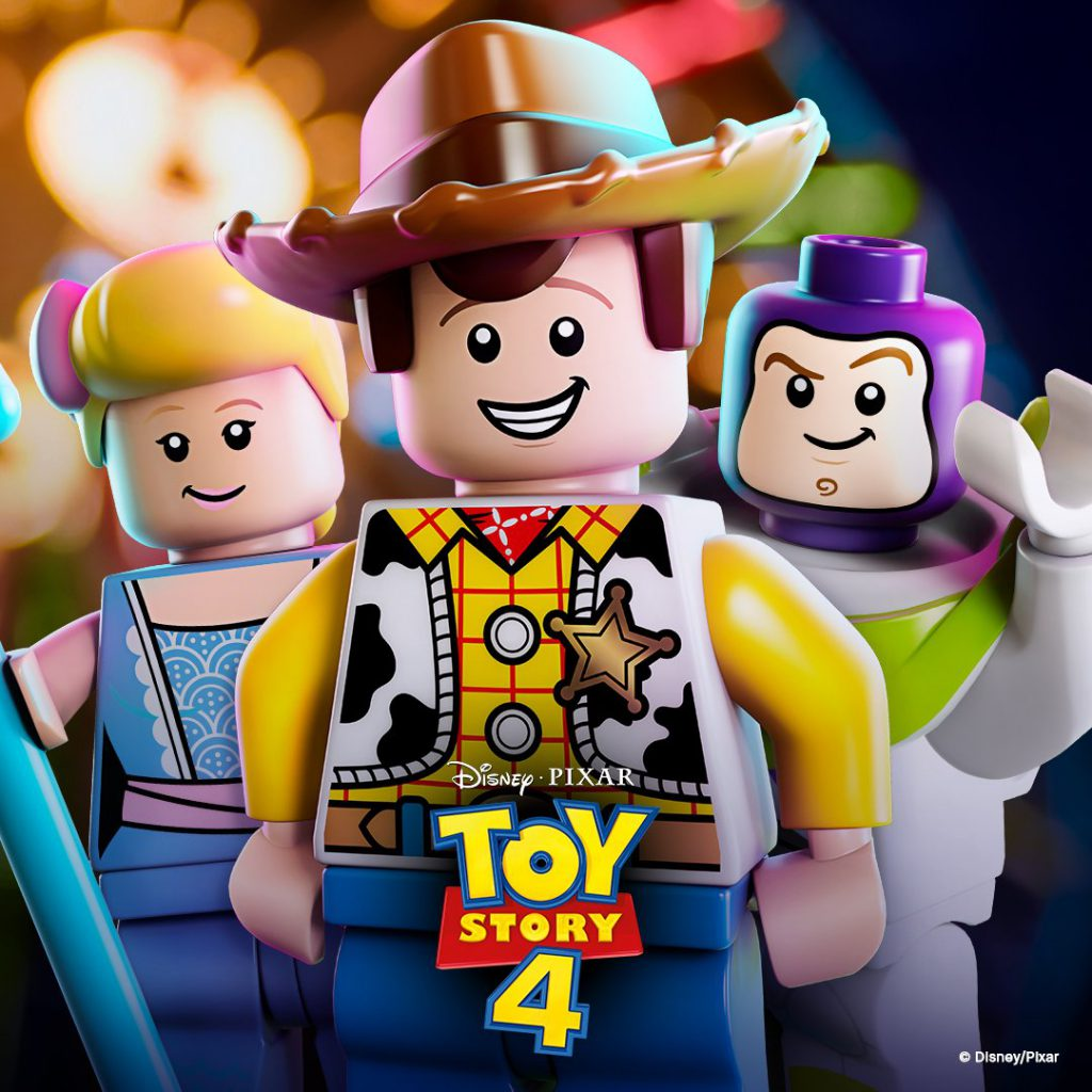 Toy Story 4 Lego Poster 1024x1024