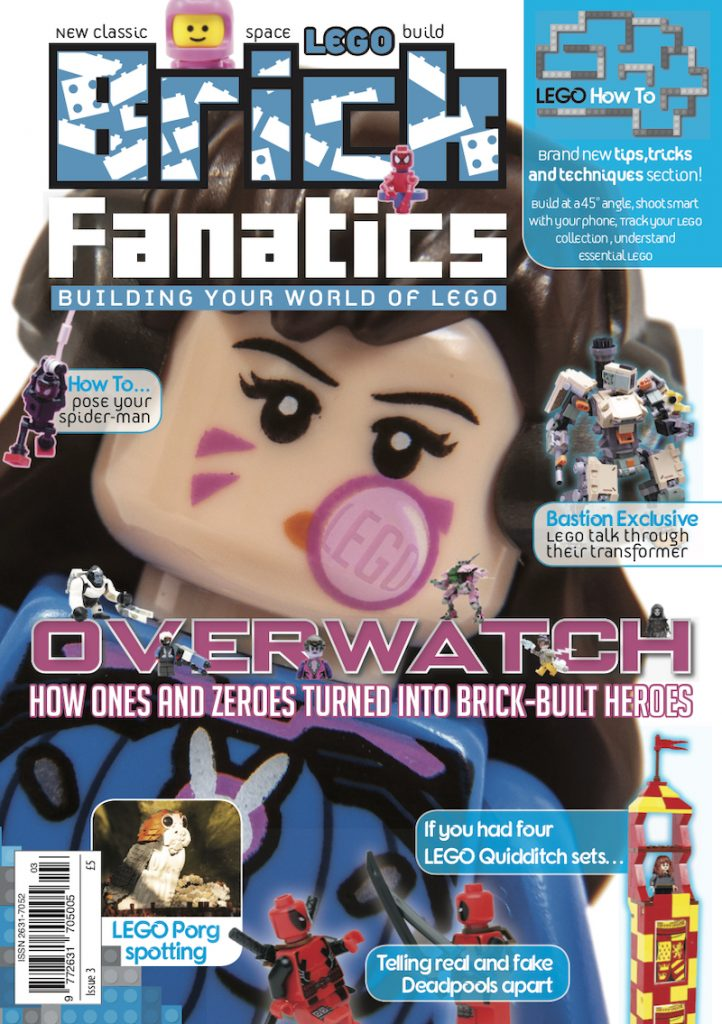 Brick Fanatics Magazine Issue 3 Cover 722x1024