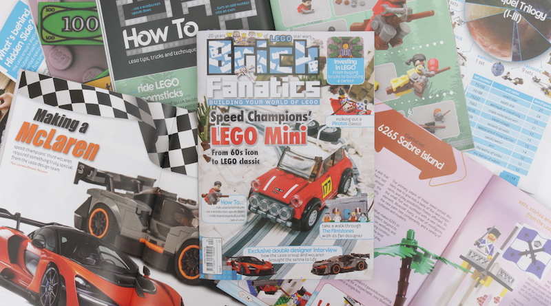 Brick Fanatics Magazine Issue 4 Collection Title
