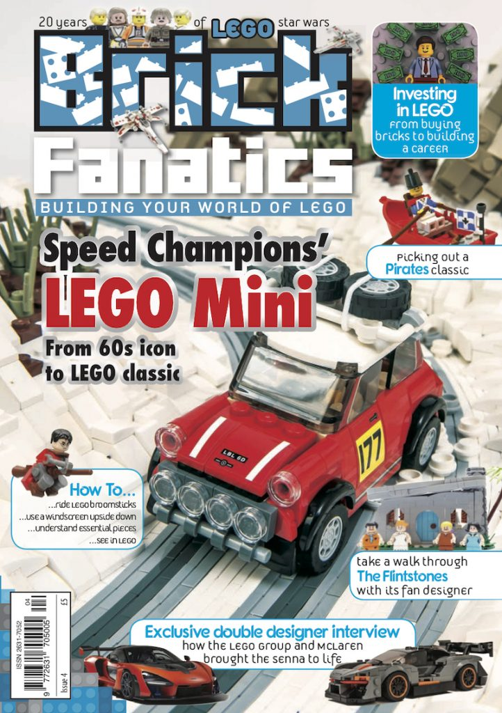 Brick Fanatics Magazine Issue 4 Cover 722x1024