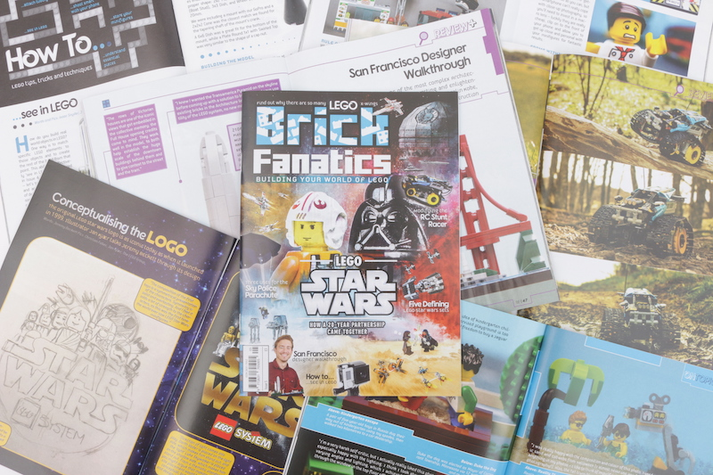 Brick Fanatics Magazine Issue 5 Collection