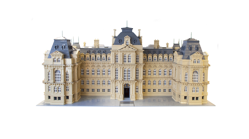LEGO Bowes Museum Featured 800 445