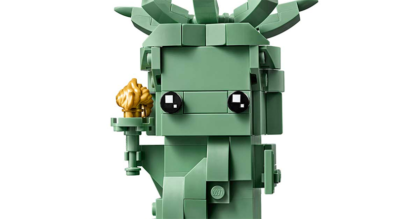 LEGO BrickHeadz 401367 Statue Of Liberty Featured 800 445