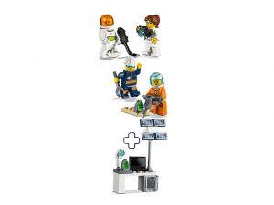 LEGO City 40345 Mars Exploration Minifigure Pack 3 300x225