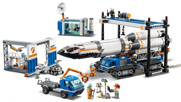 Lego City 60229 Rocket Transport Official Images Revealed
