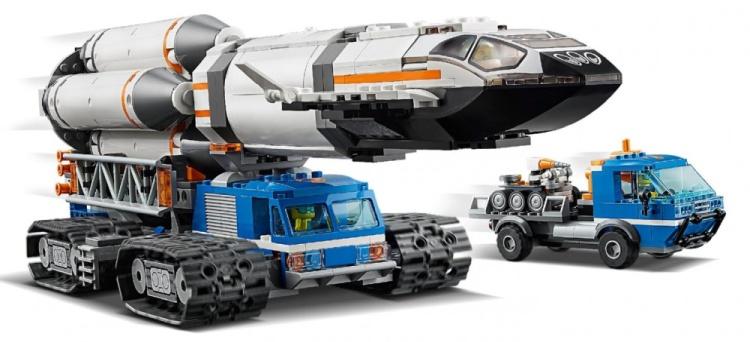 LEGO City 60229 Rocket Transport 6