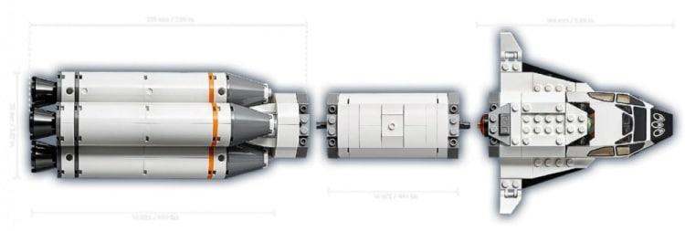 LEGO City 60229 Rocket Transport 9
