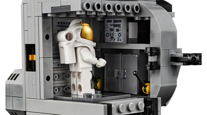 lego creator expert 10266 nasa apollo 11 lunar lander. Black Bedroom Furniture Sets. Home Design Ideas