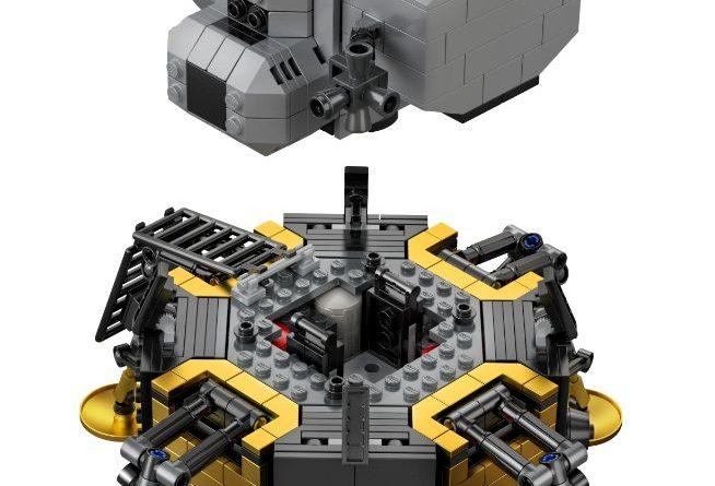 LEGO Creator Expert 10266 Lunar Lander 14 654x445