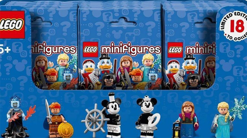LEGO Disney Minifigures Box Featured 800 445