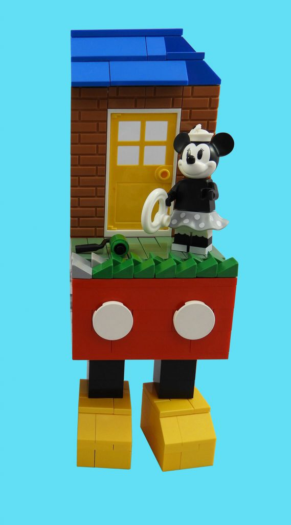 LEGO Disney Minnie Mouse Vignette Rs 569x1024