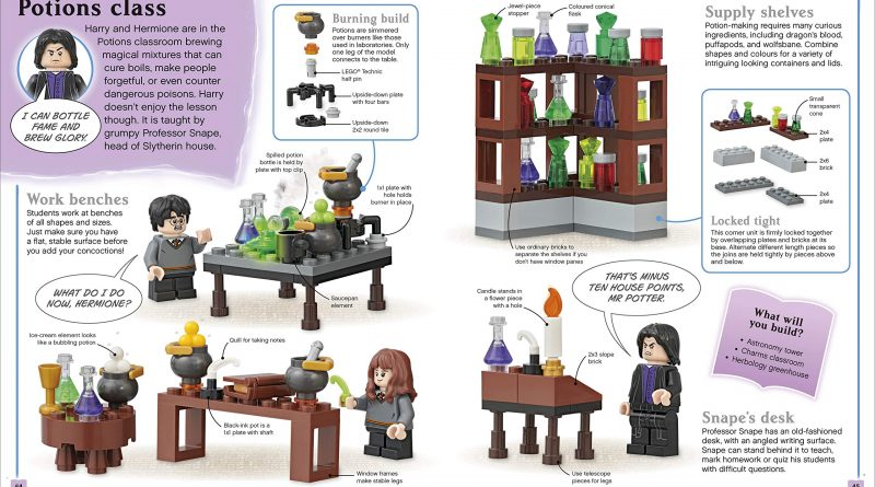 LEGO Harry Potter Build Your Own Adventure 5