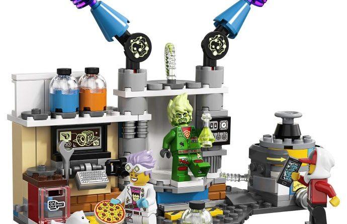 LEGO Hidden Side 70418 Lab 1