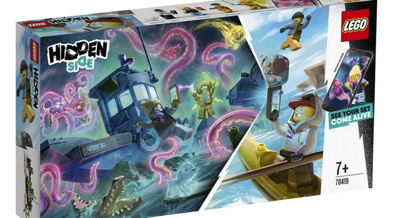 LEGO Hidden Side 70419 Boat 3 800x445