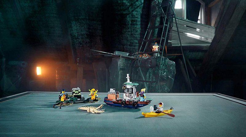 LEGO Hidden Side 70419 Boat 7
