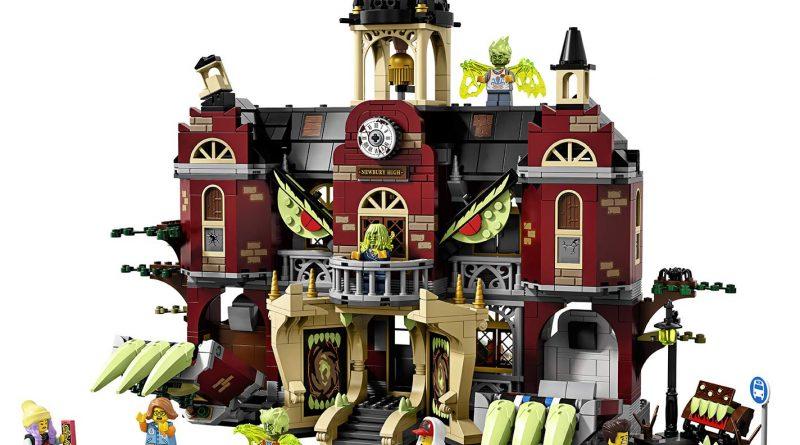LEGO Hidden Side 70425 High School 10