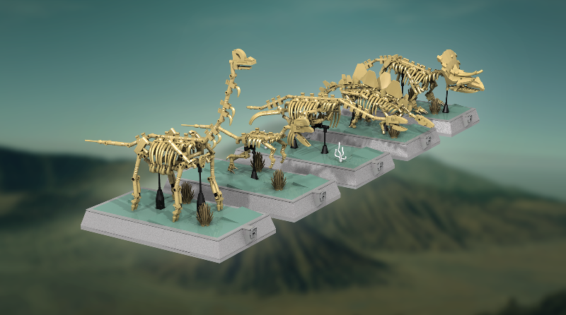 LEGO Ideas Dinosaur Skeletons Featured 800 445