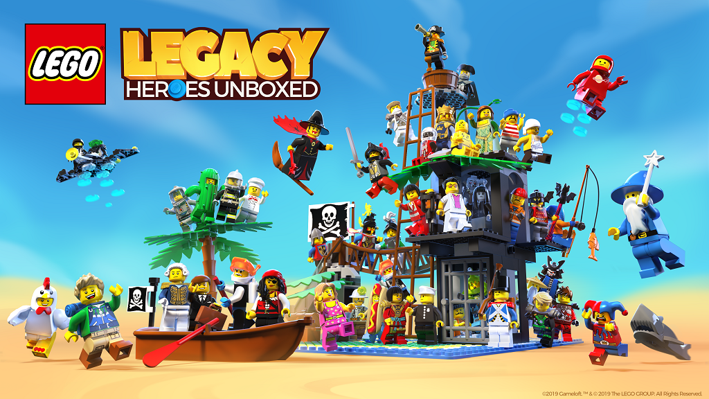 LEGO Legacy Heroes Unboxed Art Rs