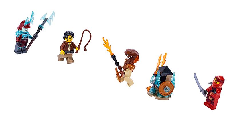 LEGO NINJAGO 40342 Minifigure Pack Featured 800 445