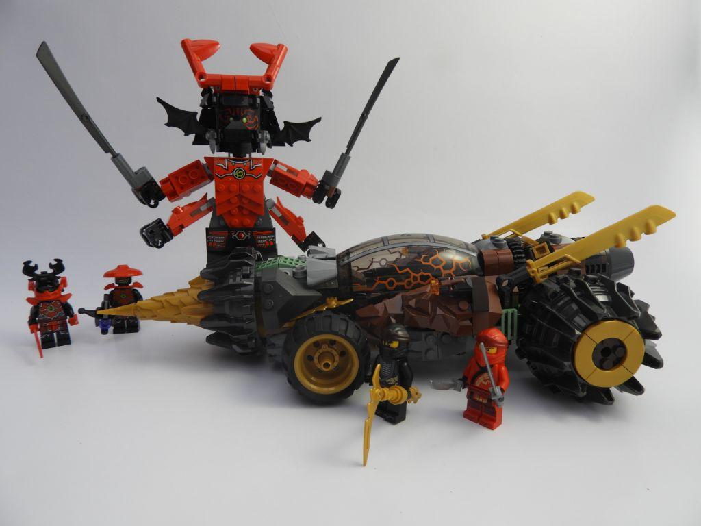 Lego Ninjago 70669 Coles Earth Driller Review