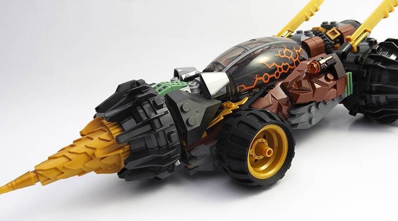 LEGO NINJAGO 70669 Cole Earth Driller featured 800 445